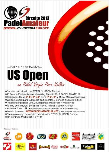 Torneo Abierto US Open Circuito PadelAmateur 2013