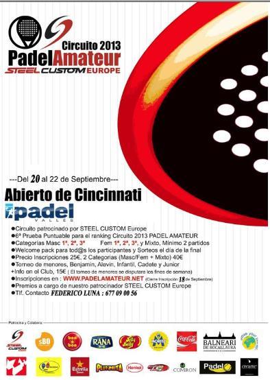 Torneo Abierto de Cincinnati de Padel