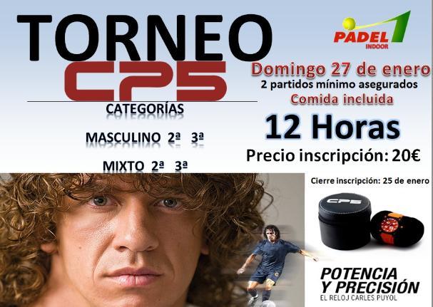 Torneo CP5 en el Padel 1 de Sabadell