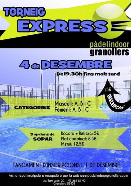Torneo Express Padel Indoor Granollers
