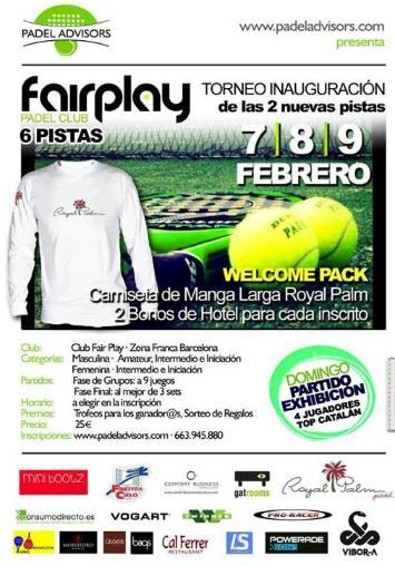 Torneo Fair Play padel