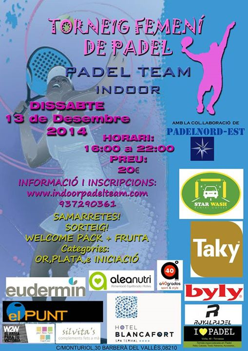 Torneo Femenino Padelnord-Est