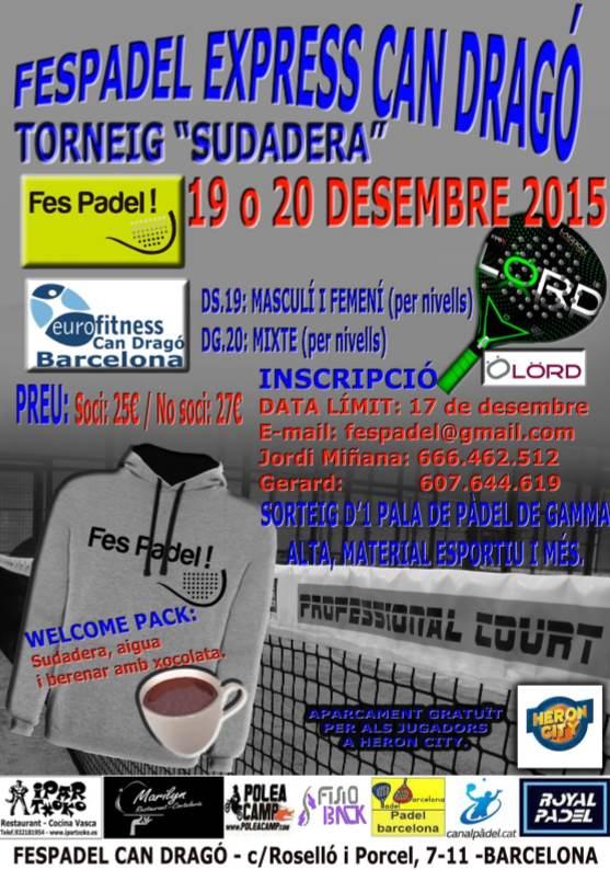 Torneo FesPadel Express Sudadera
