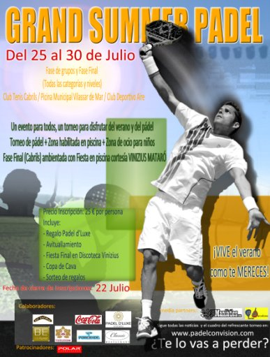 Torneo Grand Summer Padel Maresme