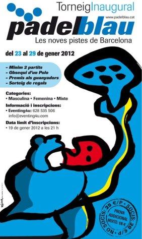 Torneo Inaugural Padel Blau