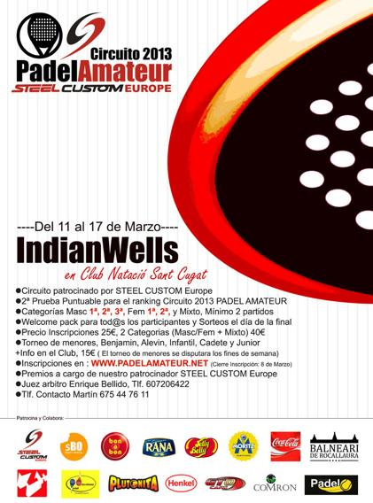 Torneo Indian Wells Circuito PadelAmateur 2013