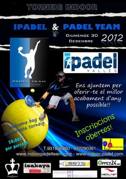 Torneo Indoor Ipadel - Padel Team