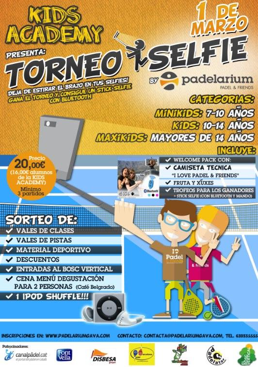 Torneo Kids El selfie en el Padelariumgava
