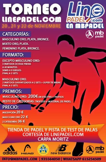 Torneo LinePadel Club MB Padel