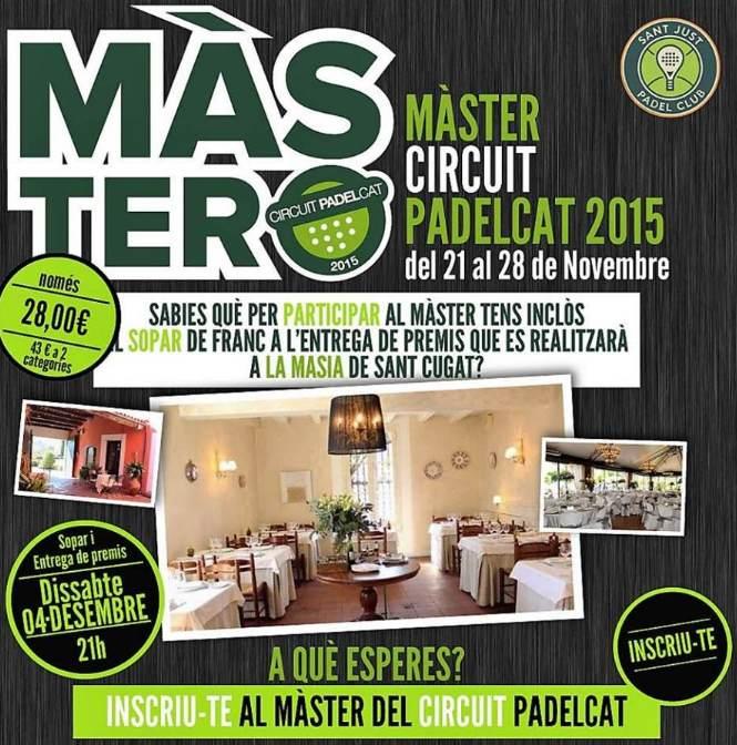 Torneo Master Padelcat Sant Just Padel