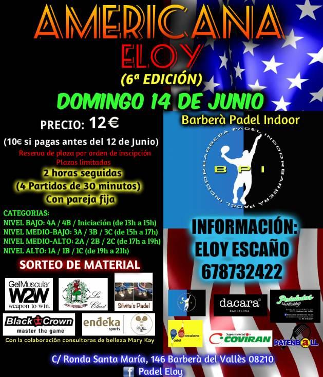 Torneo Mega Americana en el Barberá Padel Indoor