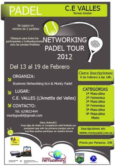 Torneo Networking Padel Tour en el CE Valles