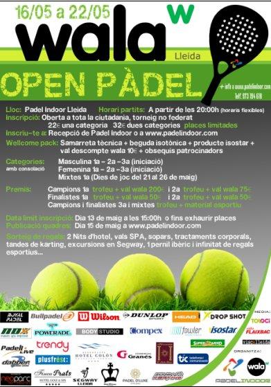 Open pádel Wala Lleida