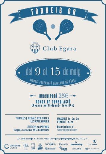 Torneo Oro FCP en el Club Egara
