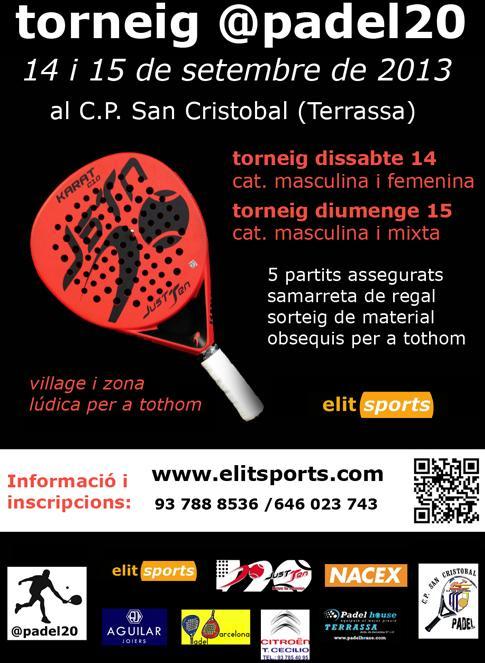 Torneo Padel20 CP San Cristobal