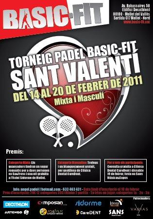Torneo Padel Basic-Fit Sant Valentin