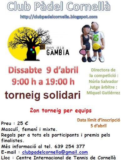 Torneo Padel Bon dia Gambia