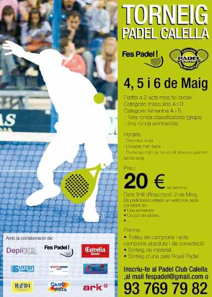 Torneo Padel Calella