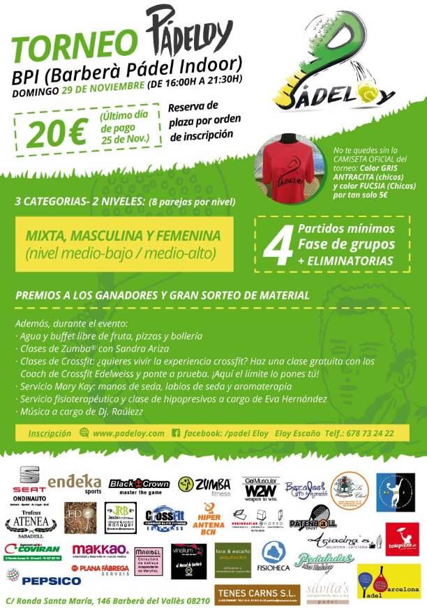 Torneo Padel Eloy Barberà del Valles