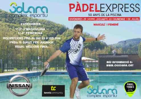 Torneo Padel Express en el Complex Esportiu Solana