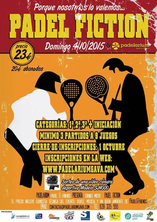 Torneo Padel Fiction en el Padelarium Gava