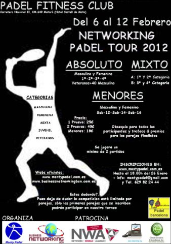 Torneo Padel Fitness Club