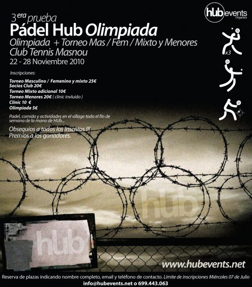 Torneo Padel Hub Olimpiada