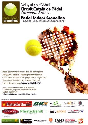 Torneo Padel Indoor Granollers