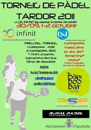 Torneo Padel Infinit en Igualada