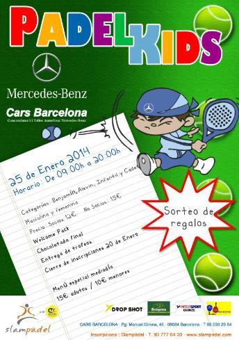 Torneo Padel Kids en el Slam Padel