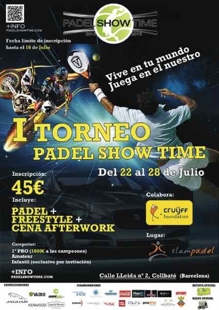 Torneo Padel Show Time en el Slampadel