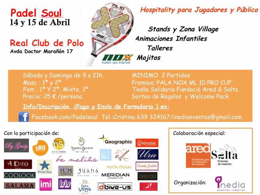 Torneo Padel Soul en el Real Club de Polo
