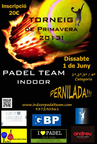 Torneo Primavera al Padel Team Indoor