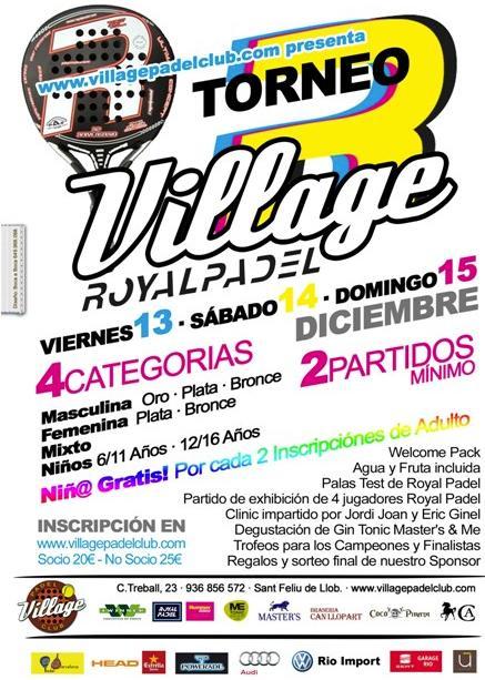 Torneo Royal Padel Village Padel Club