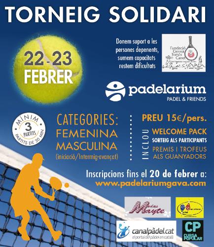 Torneo Solidario padelarium