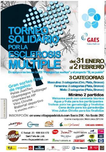 Torneo Solidario por la Esclerosis multiple