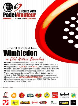 Torneo Wimbledon de PadelAmateur