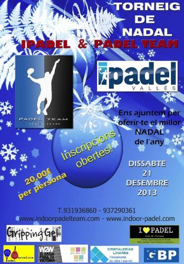 Torneo de Nadal Ipadel y Padel Team