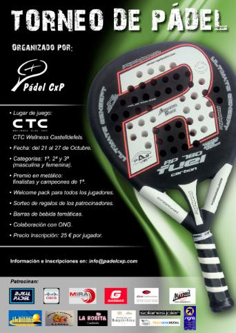 Torneo de Padel CxP en el CTC Castelldefels