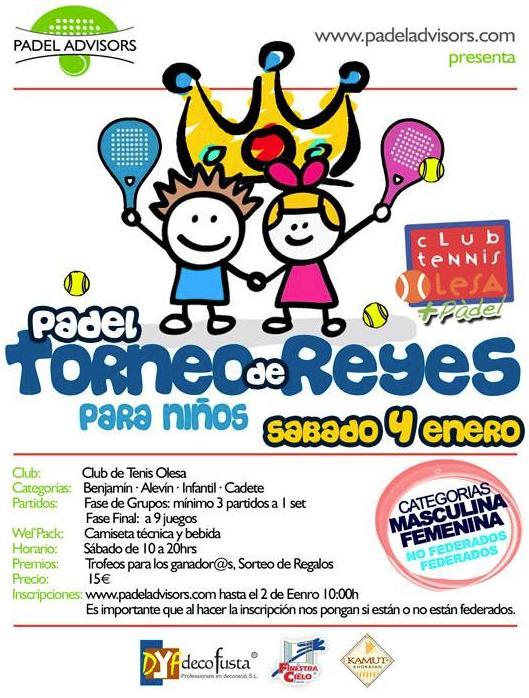 Torneo de Reyes 2014 para niños