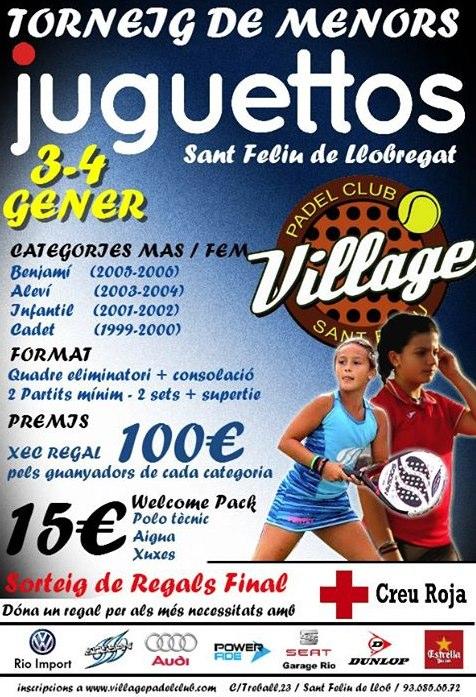 Torneo de menores Jugettos en el Village Padel Club