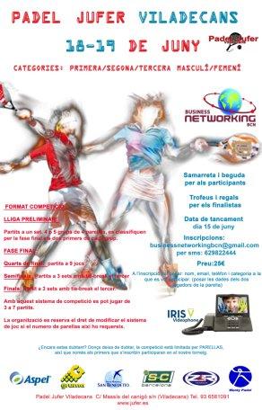 Torneo de pádel Networking Viladecans