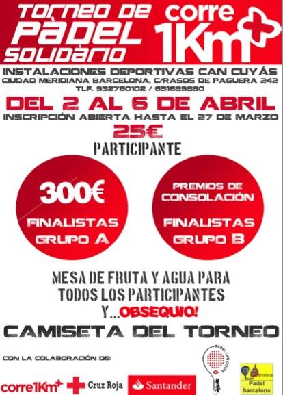 Torneo de padel Solidario Corre 1Km