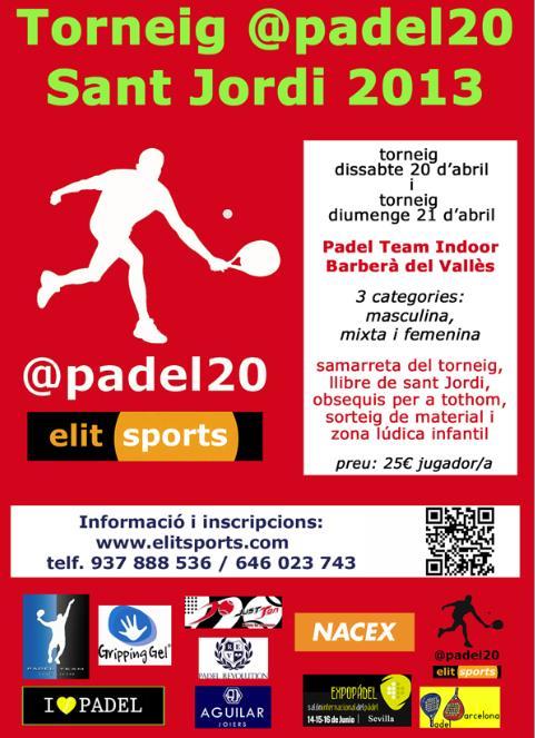 Torneo de padel deSant Jordi @padel20