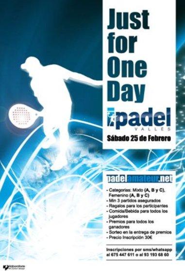 Torneo de un dia en el IPadel de Sabadell