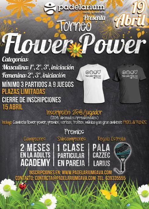 Torneo flower Power Padelarium Gavà