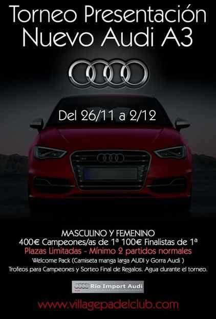 Torneo presentacion del nuevo Audi A3