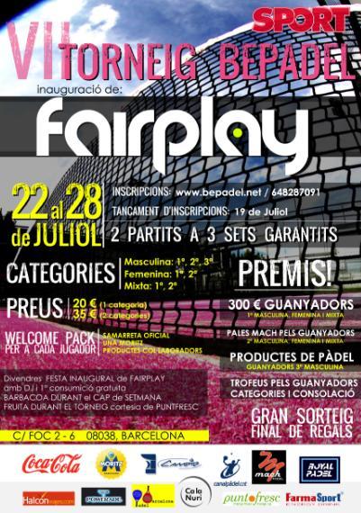 VI Torneo Bepadel Fairplay