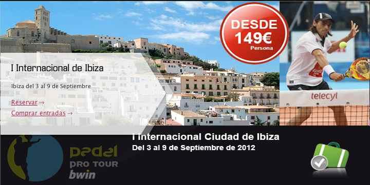Vacaciones en Ibiza con el mejor padel del mundo