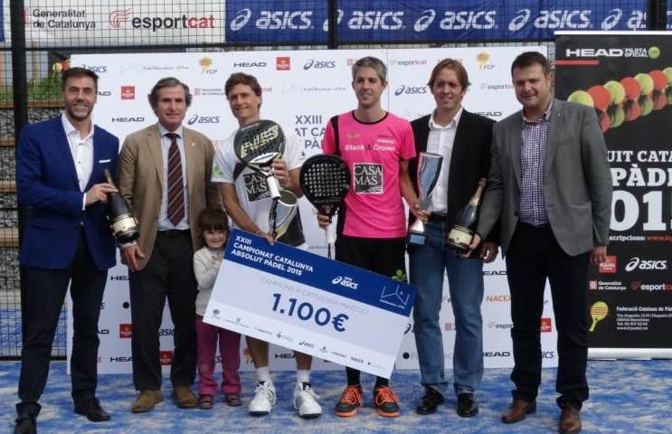 Video Final XXIII Campeonato Catalunya Padel 2015
